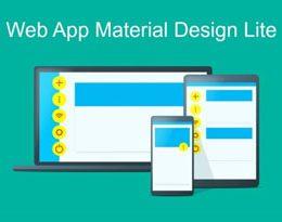 چگونه از Material Design Lite  استفاده کنیم؟
