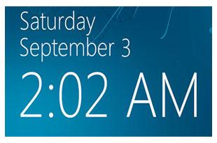 شبیه سازی ساعت ویندوز
