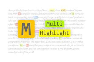 Highlight کردن متن در جستجو