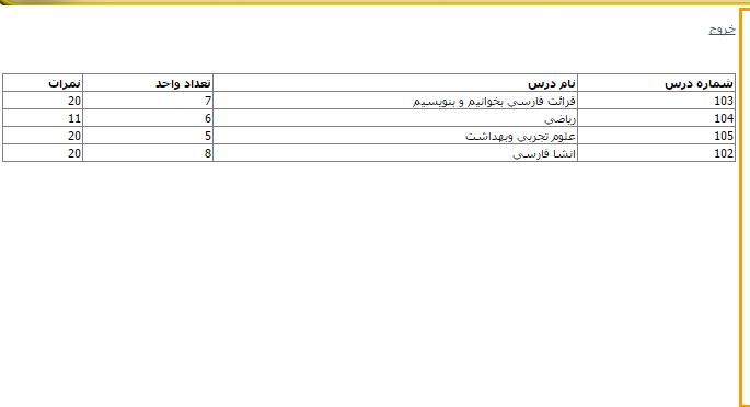 وب سایت مدیریت مدرسه