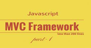 فریم ورک های Javascript